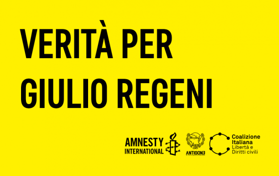 Truth for Giulio Regeni, in football stadiums on April 23-25