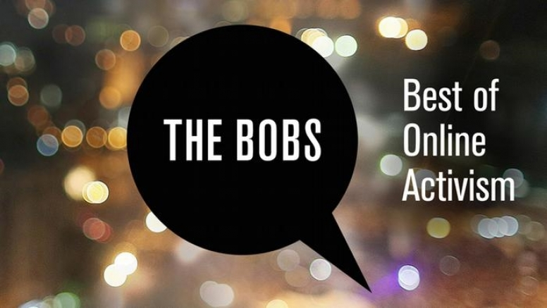 #TheBobs16: celebrating the best in online activism