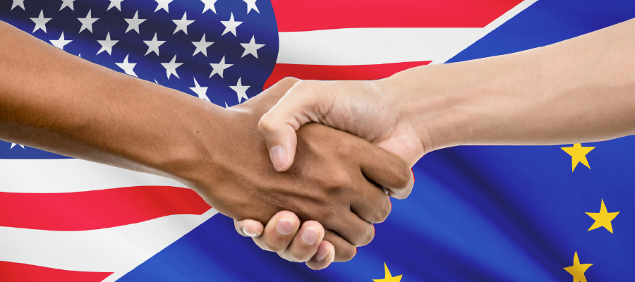 A new agreement reached between the USA and the EU regarding data protection