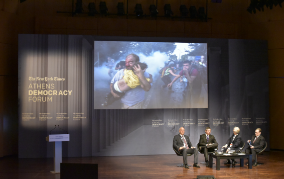 Athens Democracy Forum: democracy as a process