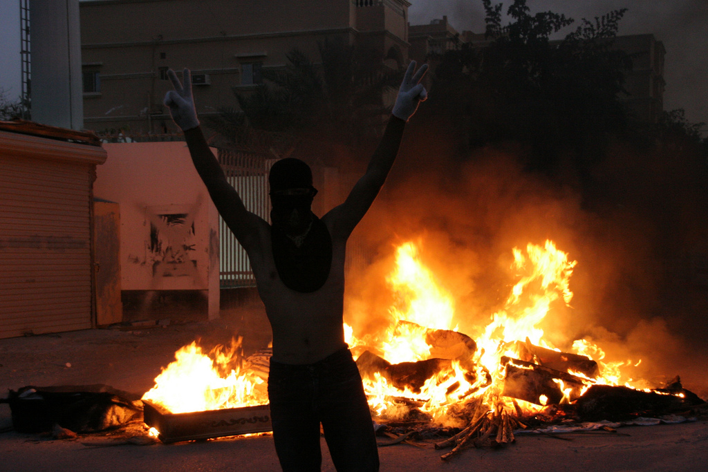 Protests in Bahrain (Fonte: Al Jazeera English)