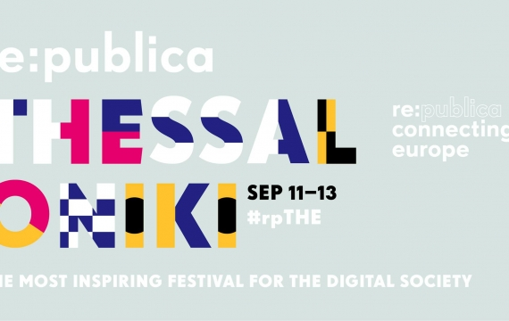 CILD and Open Migration at Re:publica Thessaloniki