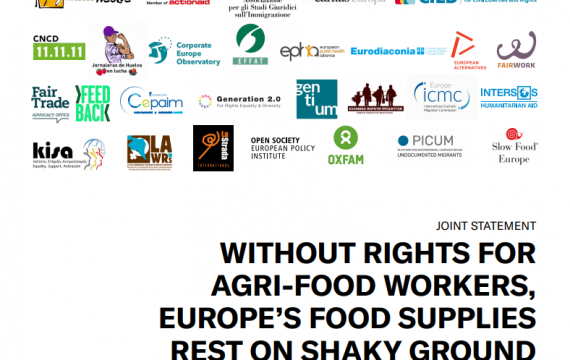 Without rights for agrifood workers, food supplies rest on shaky ground