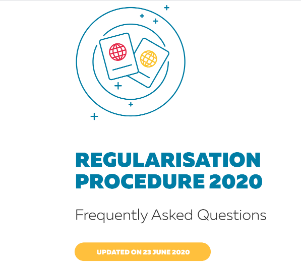 Regularisation Procedure 2020: Check Out Our Frequently Asked Questions