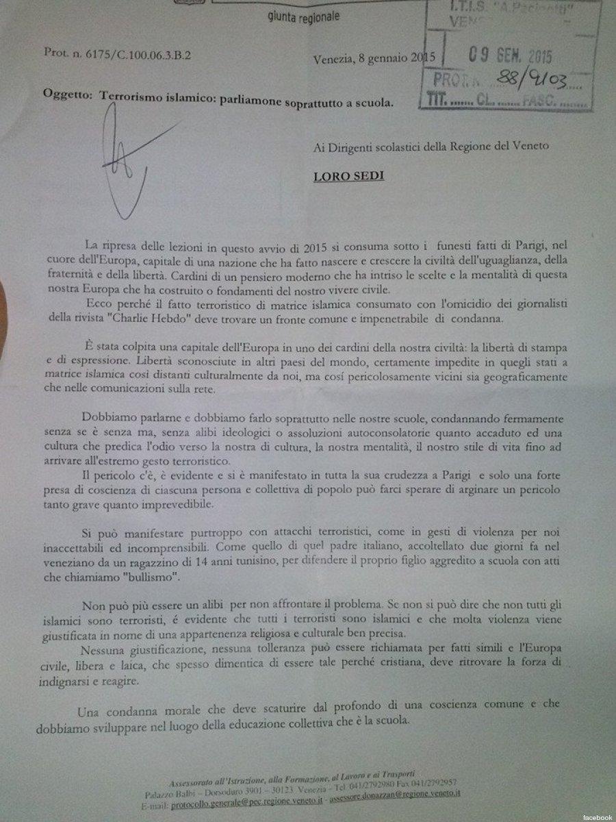 ENAR e CILD condannano la circolare alle scuole dell'assessore Donazzan