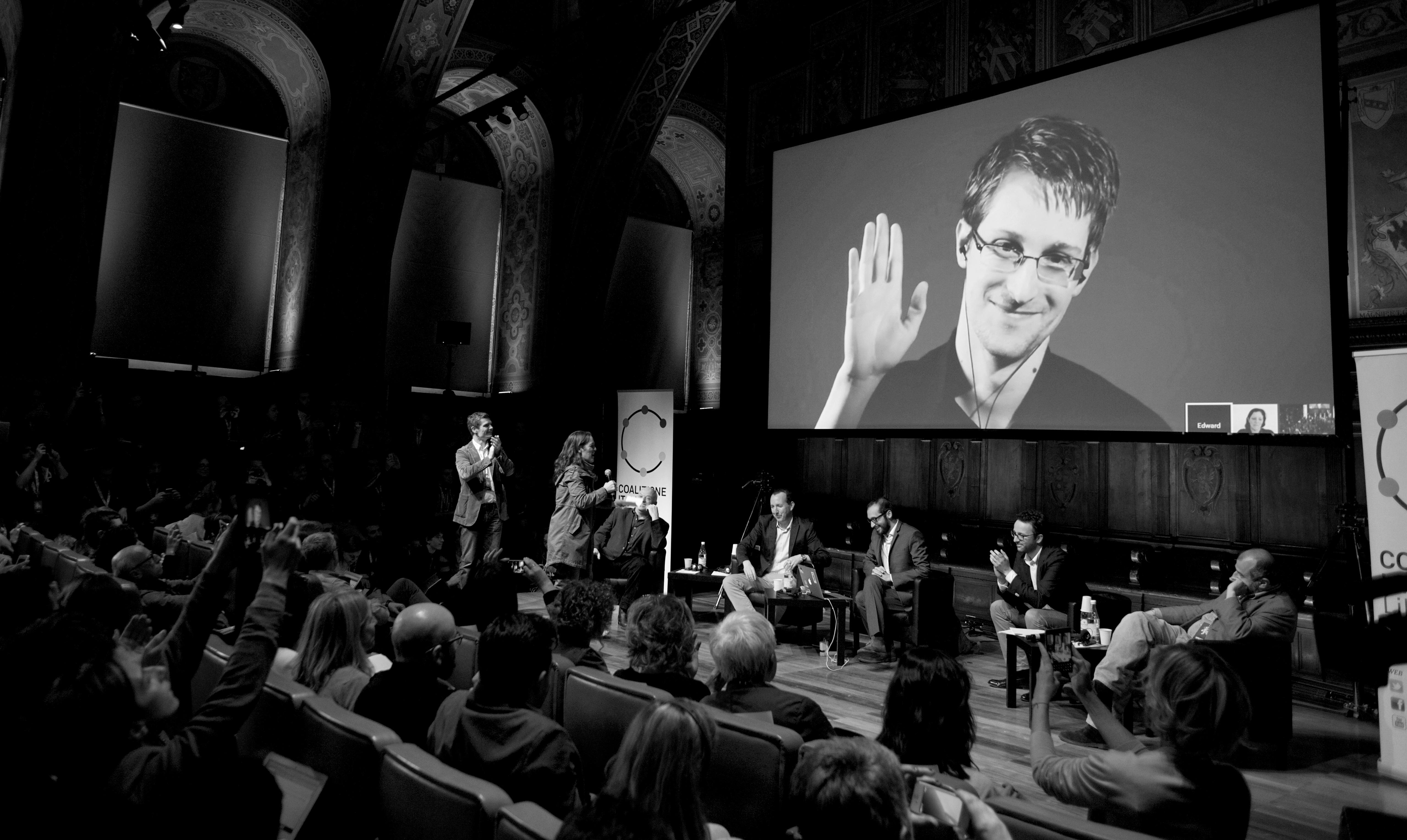 L'attesissimo Snowden al Festival Internazionale del Giornalismo
