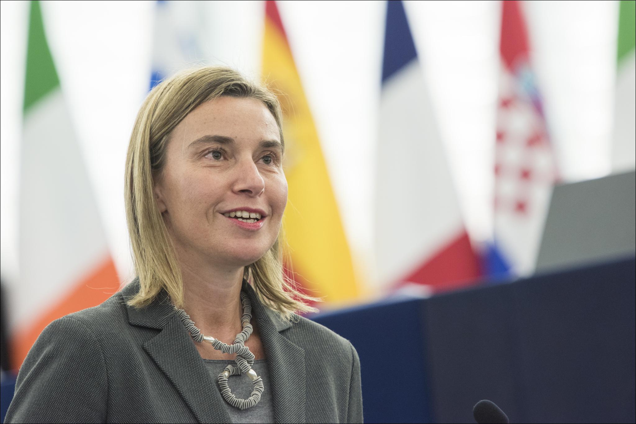 La società civile si rivolge a Federica Mogherini