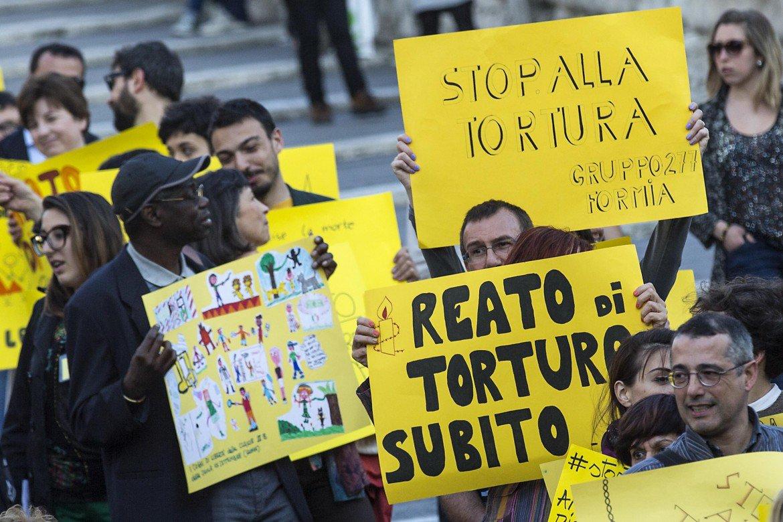 Giornata Mondiale Contro La Tortura: serve una legge subito
