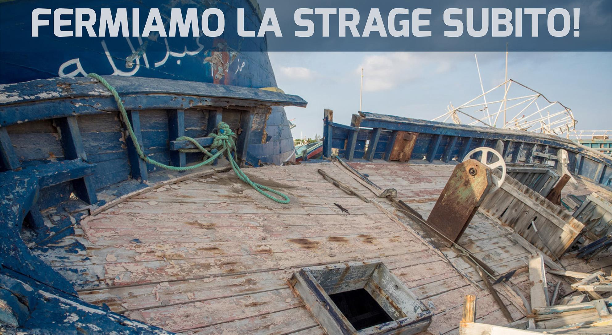 Fermiamo la strage: manifestazione nazionale (Roma, 20 giugno)