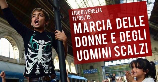 Marcia delle Donne e degli Uomini Scalzi (Venezia, 11 settembre)