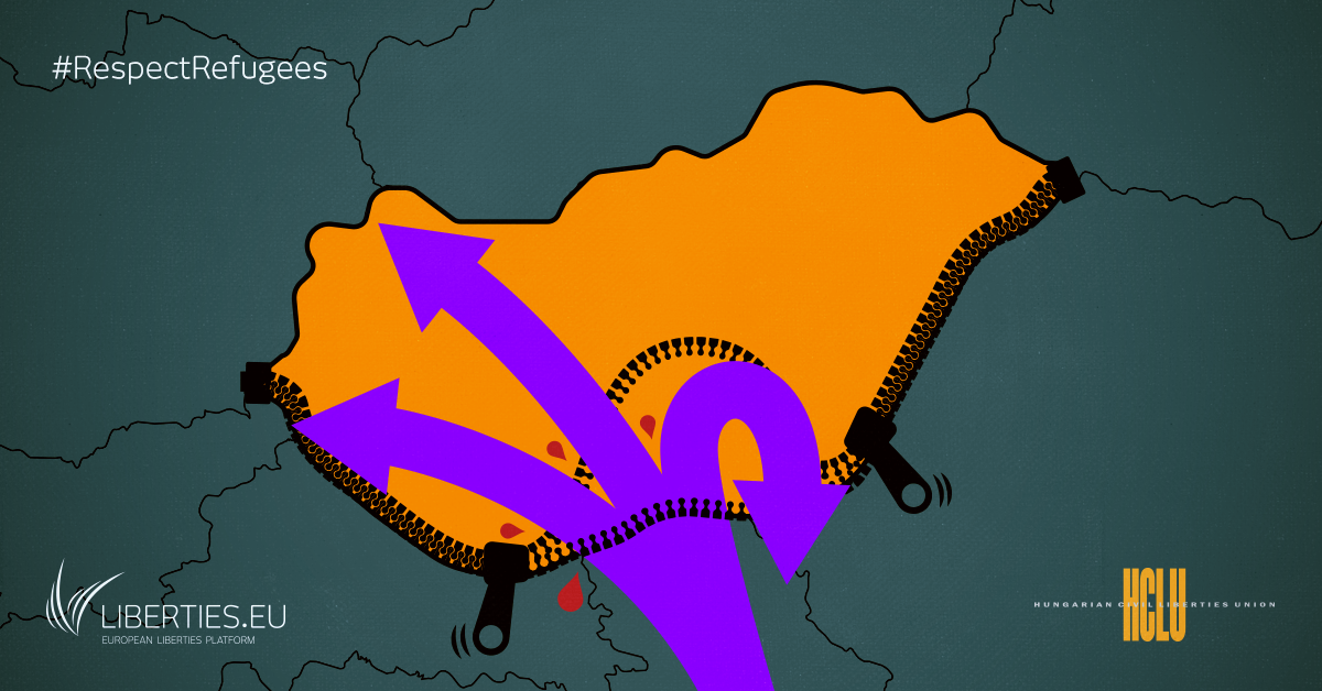 Campagna: contro le durissime leggi sui migranti in Ungheria