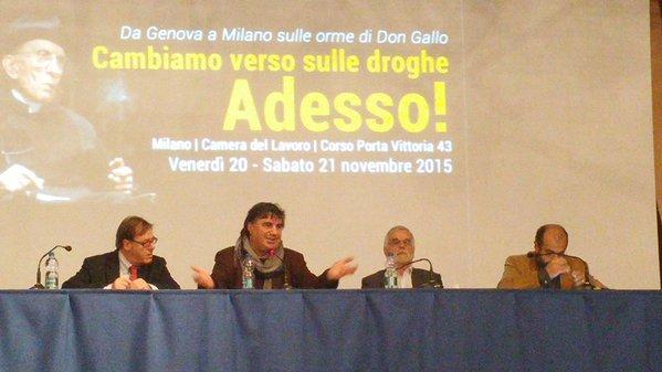 Cambiamo verso sulle droghe: cosa è stato detto a Milano