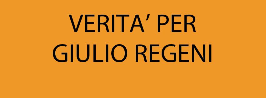 Verità per Giulio Regeni: sit-in a Roma il 25 febbraio