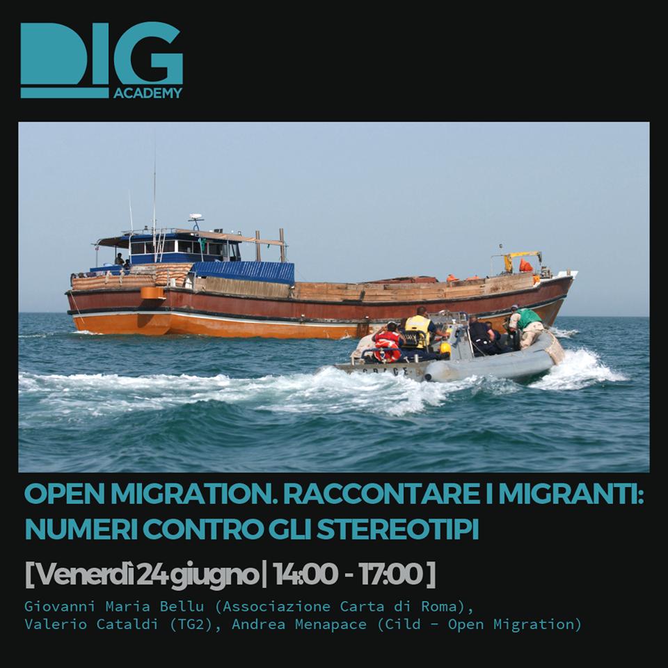 Numeri contro gli stereotipi: il workshop Open Migration al DIG Festival