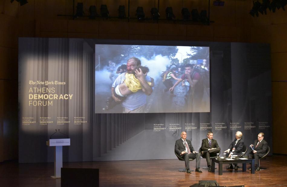 Athens Democracy Forum: la democrazia in divenire e le politiche col fiato corto
