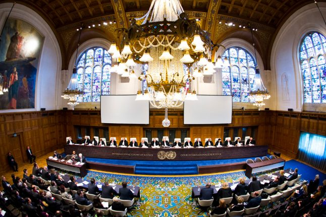 La Corte Internazionale di Giustizia (via UN Photos).