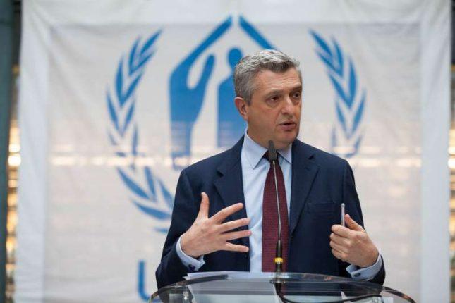 Filippo Grandi (via UNHCR Photo).