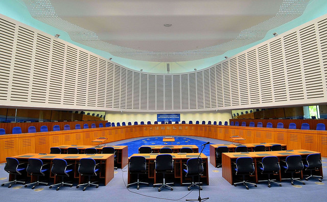 Un'aula della Corte. PH: Latvian Foreign Ministry / Flickr Creative Commons.