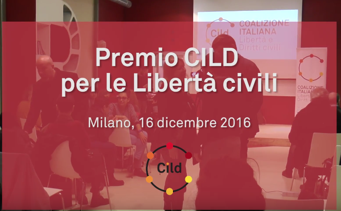 Premio CILD: il video della serata di premiazione