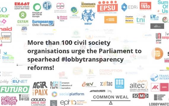 Lobby, l'appello per un'Europa trasparente