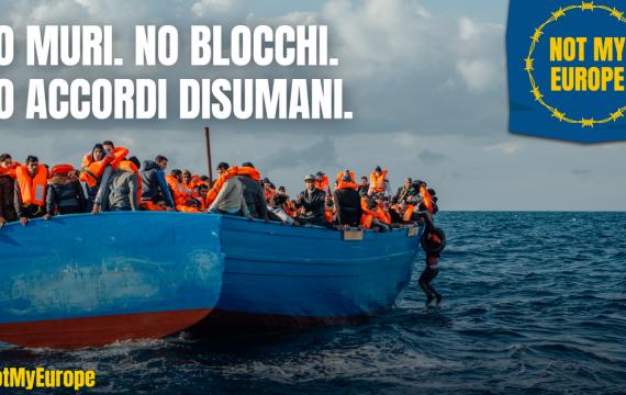 Not My Europe: il 25 marzo la mobilitazione a Roma
