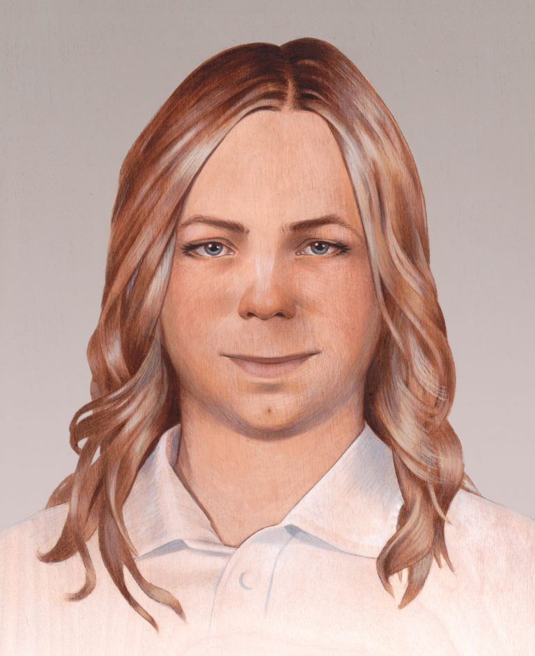 Ritratto di Chelsea Manning – Alicia Neal. Commissionato dal Chelsea Manning Support Network nel 2014