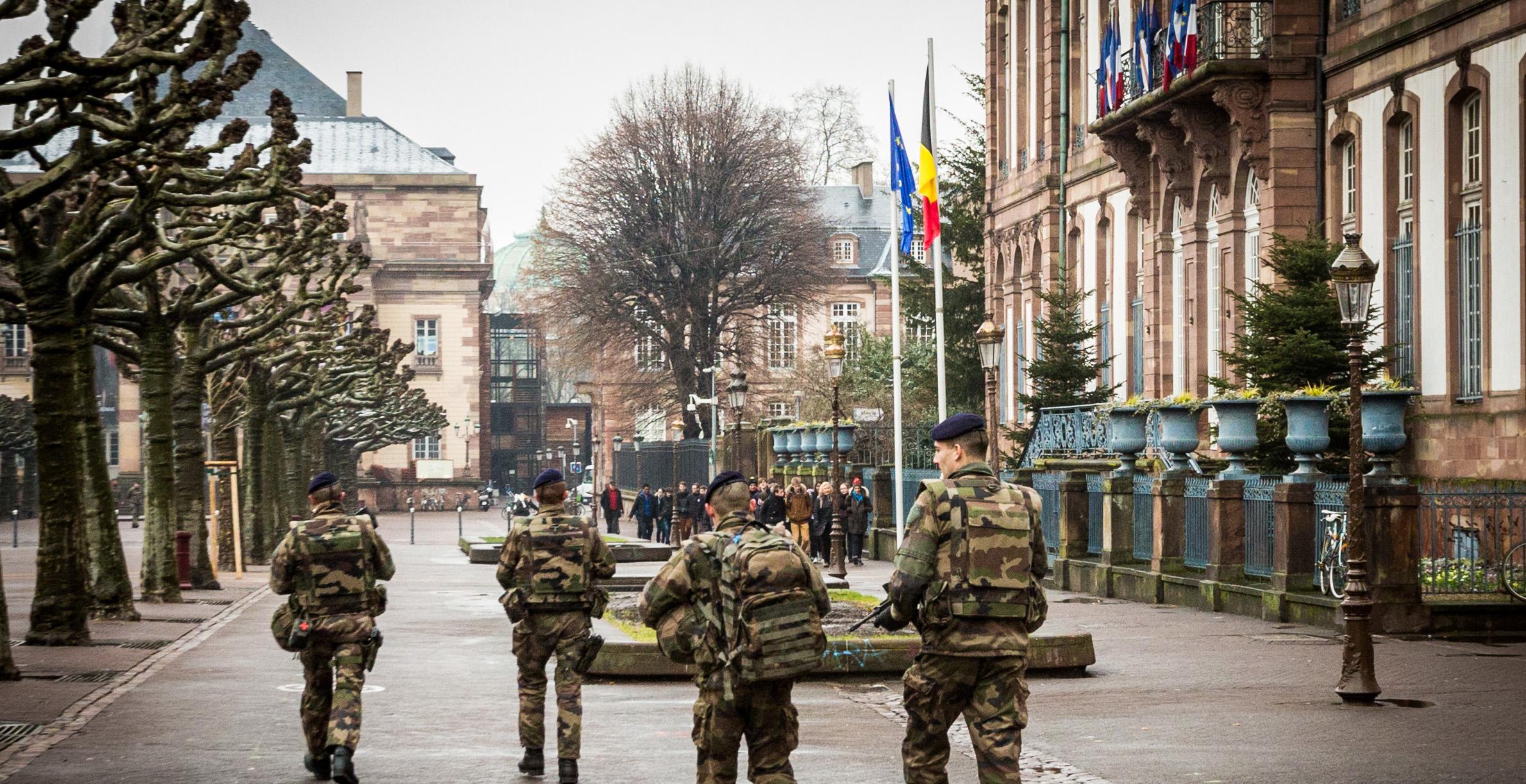 Controllo delle strade a Strasburgo - Credit: Wikimedia Commons