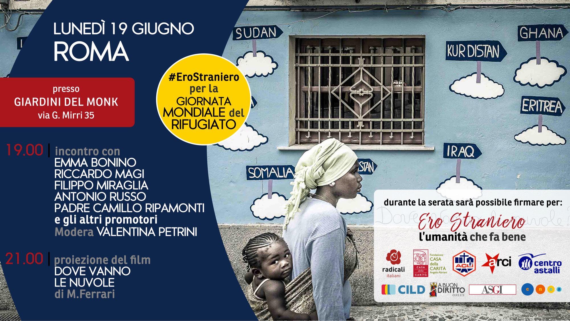 20 giugno, Giornata mondiale del Rifugiato: ecco tutte le iniziative CILD