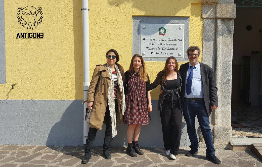 Osservatori di Antigone dopo una visita al carcere di Porto Azzurro
