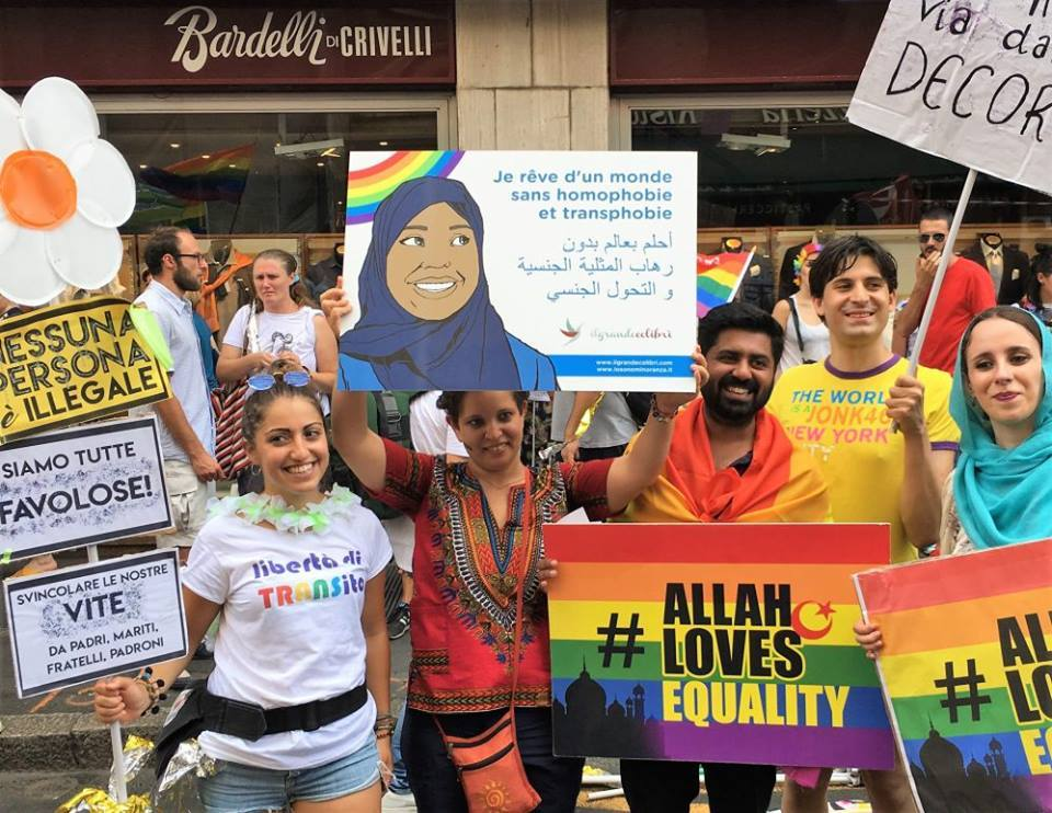 Milano Pride 2017 (Credit: facebook Allah Loves Equality)