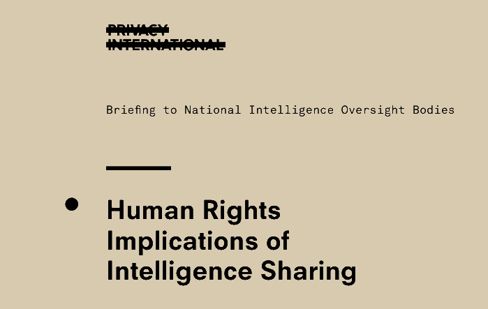 Intelligence sharing