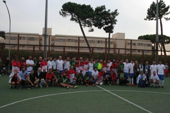Le tre squadre insieme. Credit: Atletico Diritti