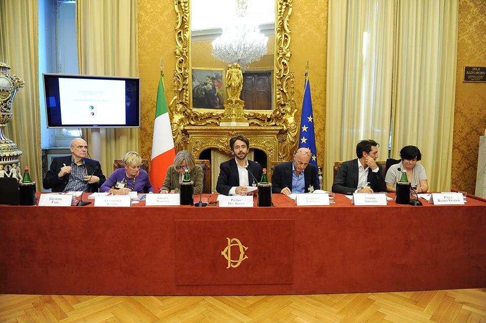 La conferenza stampa di presentazione del Quarto Libro Bianco sul razzismo in Italia. Credit: Lunaria
