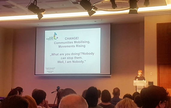 Conferenza Annuale di ILGA-Europe: la nostra esperienza
