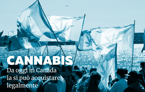 In Canada aprono oggi i negozi che vendono cannabis. E in Italia?