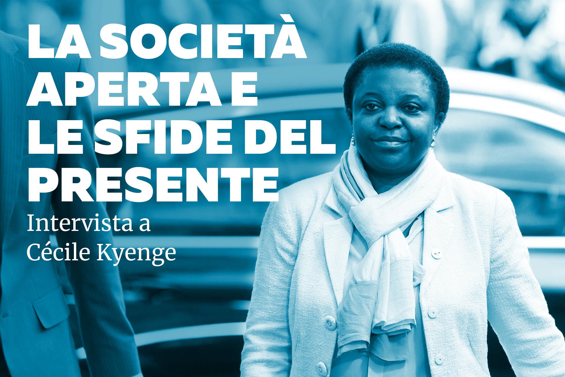La società aperta e le sfide del presente: intervista a Cécile Kyenge