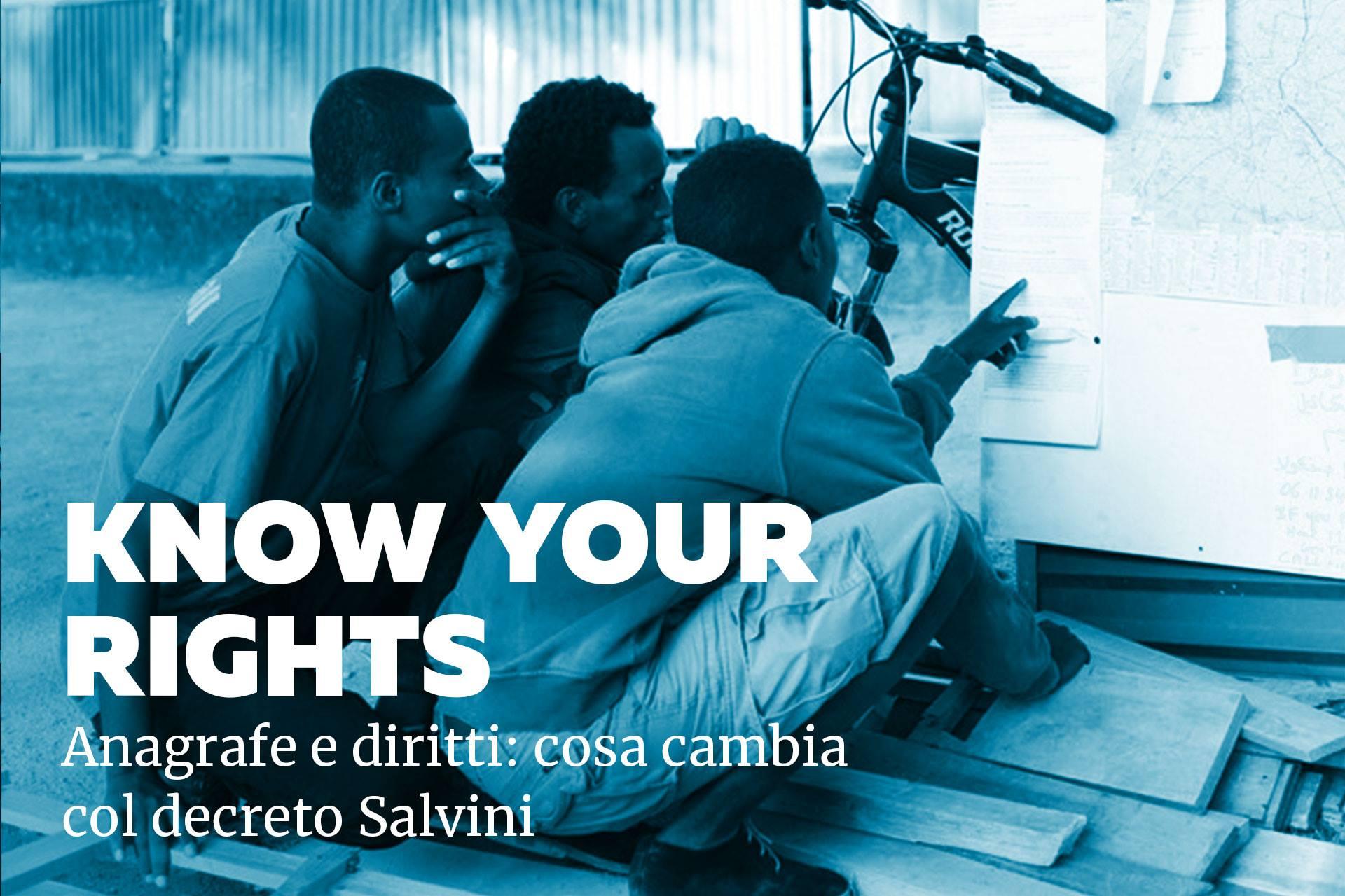 Know your rights: la nostra nuova guida sull'iscrizione anagrafica