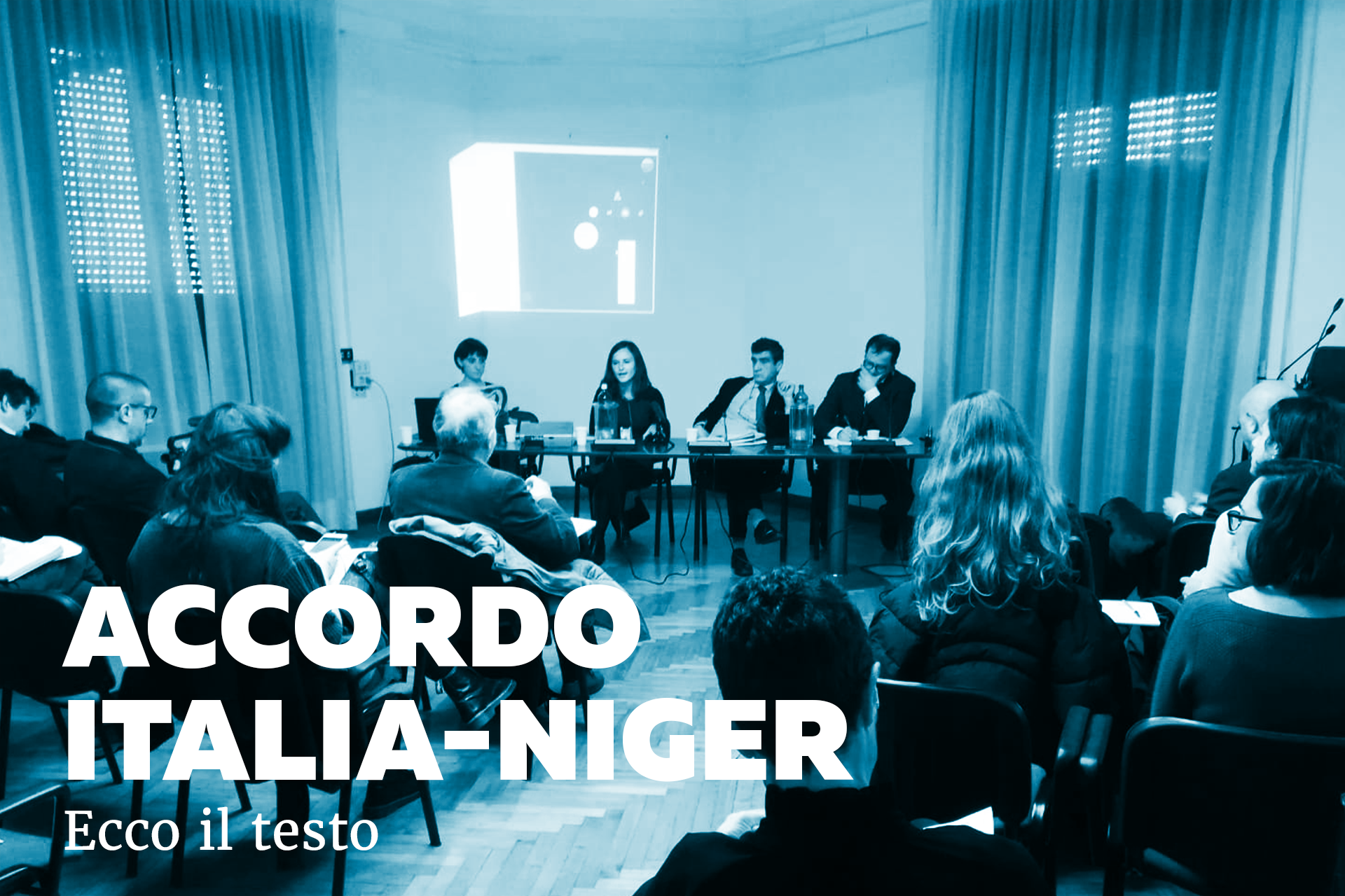 Accordo Italia-Niger